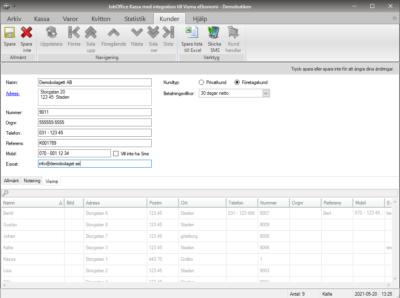 Skapa nya kunder direkt från JobOffice Kassa till Visma eEkonomi
